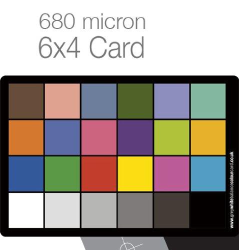 Grau- Und Farbkarte Für Weißabgleich, PVC, 10 X 15 Cm