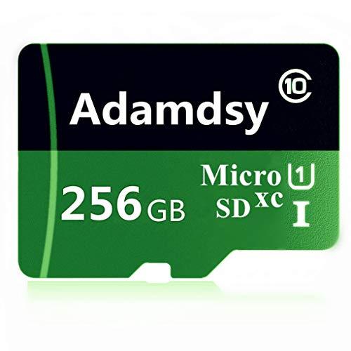 Adamdsy Micro SD Karte 256GB, microSDXC 256GB